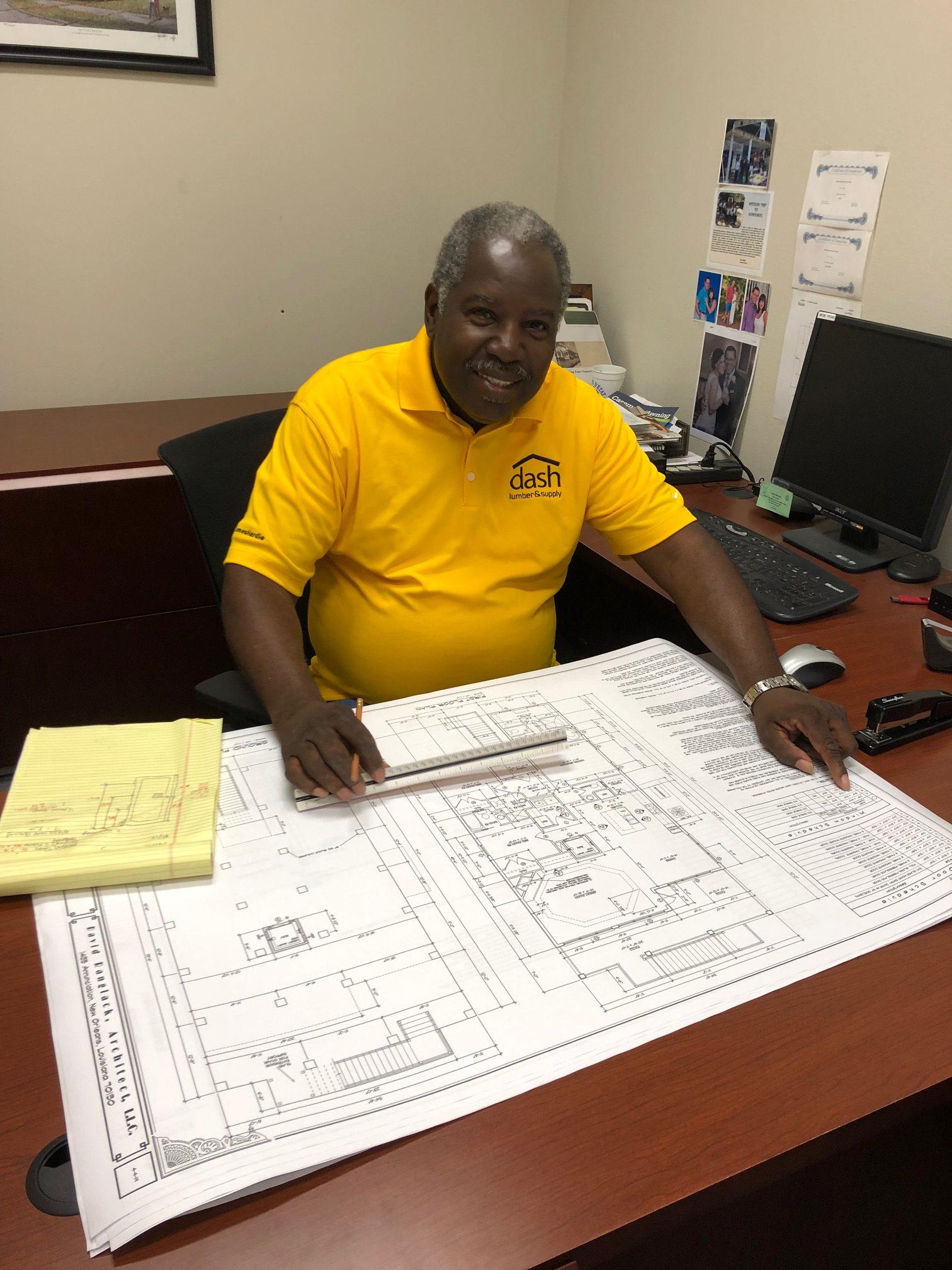 Employee Spotlight Wallace Allen Jr Dash Lumber